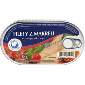 BIG FISH Filety z makreli w sosie pomidorowym (1)