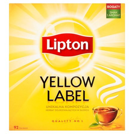 LIPTON Yellow Label Herbata czarna (92 tb.) (2)