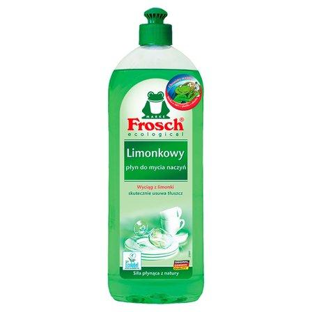 FROSCH ecological Limonkowy płyn do mycia naczyń (1)