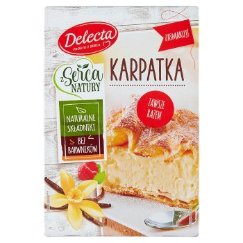 Delecta Z serca natury Karpatka mieszanka do wypieku ciasta 390 g (1)