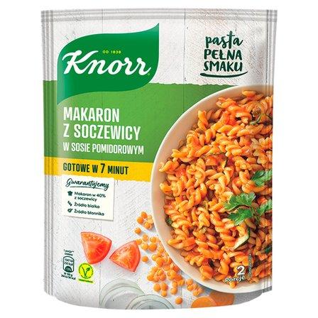 KNORR Makaron z soczewicy w sosie pomidorowym (1)