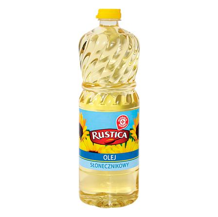 WIODĄCA MARKA Rustica Olej słonecznikowy (1)