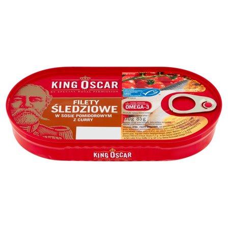 KING OSCAR Filety śledziowe w sosie pomidorowym z curry (1)