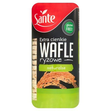 SANTE Extra cienkie wafle ryżowe naturalne (2)