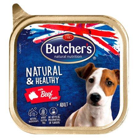 BUTCHER'S Natural & Healthy Karma dla dorosłych psów pasztet z wołowiną (1)