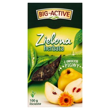 BIG-ACTIVE Herbata zielona z owocem pigwy (2)