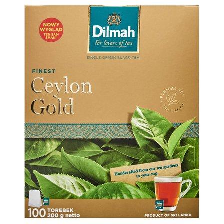 DILMAH Ceylon Gold Herbata czarna klasyczna (100 tb.) (1)