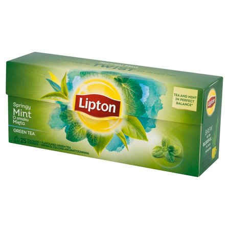 LIPTON Herbata zielona miętowa (25 tb.) (1)