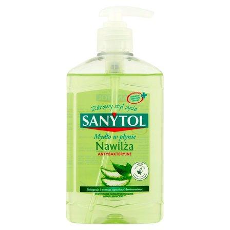 SANYTOL Mydło w płynie nawilżające antybakteryjne (1)