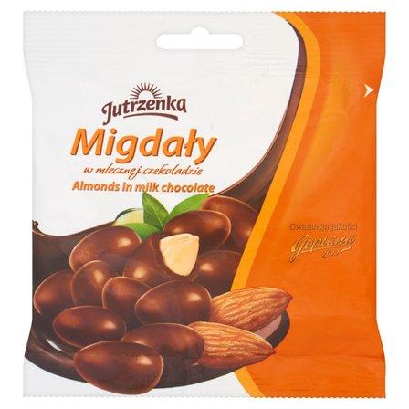 JUTRZENKA Migdały w mlecznej czekoladzie (1)