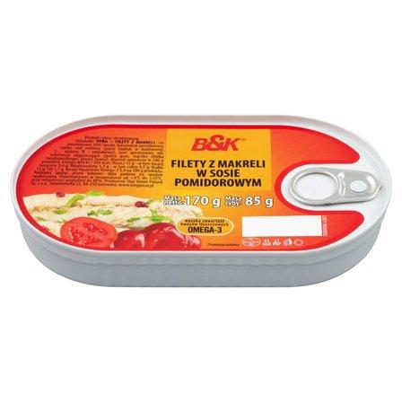 B&K Filety z makreli w sosie pomidorowym (1)