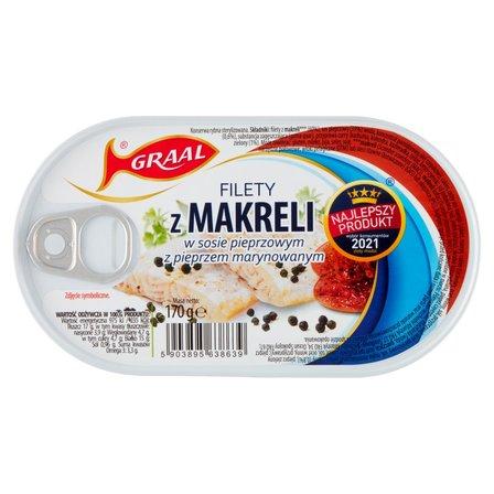 GRAAL Filety z makreli w sosie pieprzowym z pieprzem marynowanym (2)