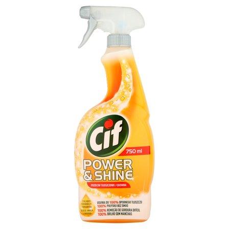 CIF Power & Shine Przeciw tłuszczowi Spray (1)
