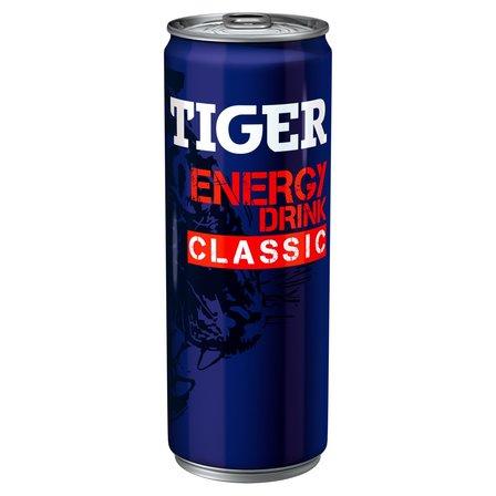 TIGER Energy Drink Classic Gazowany napój energetyzujący (1)