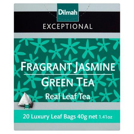 DILMAH Exceptional Zielona herbata z kwiatami jaśminu (20 tb.) (2)