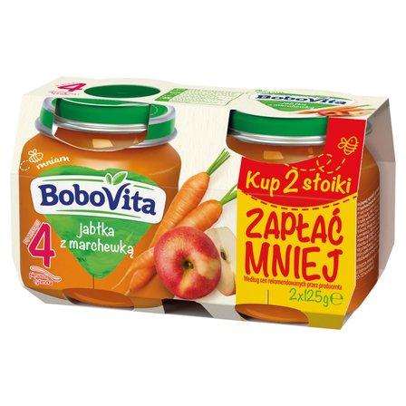 BOBOVITA Jabłka z marchewką po 4. m-cu (2 szt.) (1)