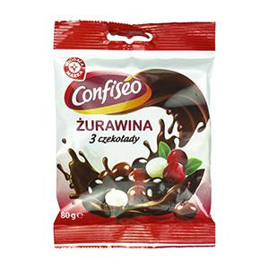 WIODĄCA MARKA Żurawina w czekoladzie mix (1)
