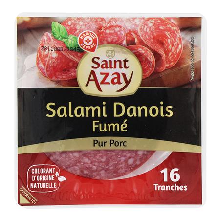 WIODĄCA MARKA Salami wieprzowe wędzone w plastrach (1)
