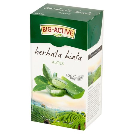BIG-ACTIVE Herbata biała aloes (20 tor.) (1)