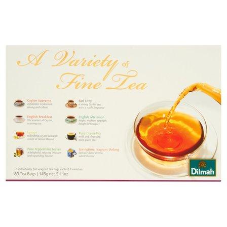 DILMAH A Variety of Fine Tea Zestaw czarnych herbat (80 tb.) (2)