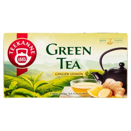 TEEKANNE Green Tea Ginger Lemon Aromatyzowana herbata zielona (20 tb.) (2)