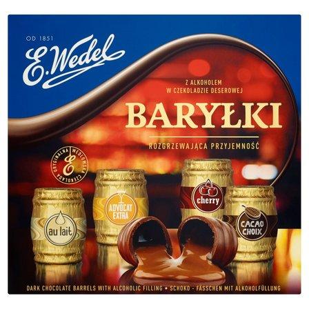 E. WEDEL Baryłki z alkoholem w czekoladzie deserowej (2)