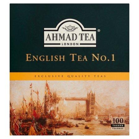 AHMAD TEA English Tea No. 1 Herbata czarna (100 tb.) (2)