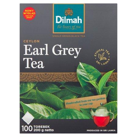 DILMAH Earl Grey Klasyczna czarna herbata z aromatem z bergamoty (100 tb.) (2)