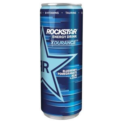 Rockstar Xdurance Blueberry Pomegranate Acai Gazowany napój energetyzujący 250 ml (1)