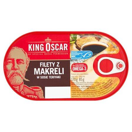 KING OSCAR Filety z makreli w sosie teriyaki (2)