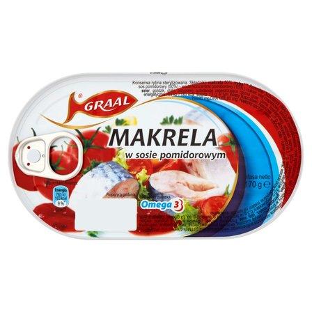 GRAAL Makrela w sosie pomidorowym (2)