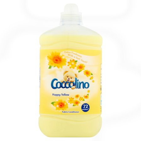 COCCOLINO Happy Yellow Płyn do płukania tkanin koncentrat (72 prania) (1)