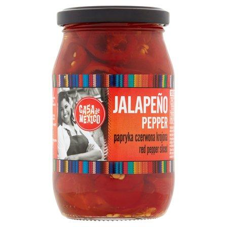 CASA DE MEXICO Papryka czerwona Jalapeno krojona (2)
