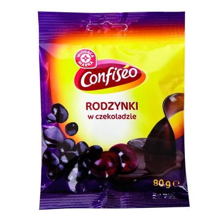 WODĄCA MARKA Rodzynki w czekoladzie (1)