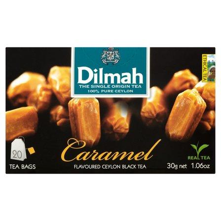 DILMAH Czarna herbata z aromatem karmelu (20 tb.) (2)