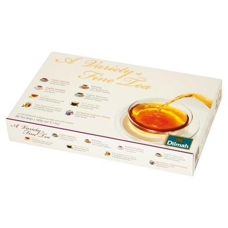 DILMAH A Variety of Fine Tea Zestaw czarnych herbat (80 tb.) (1)