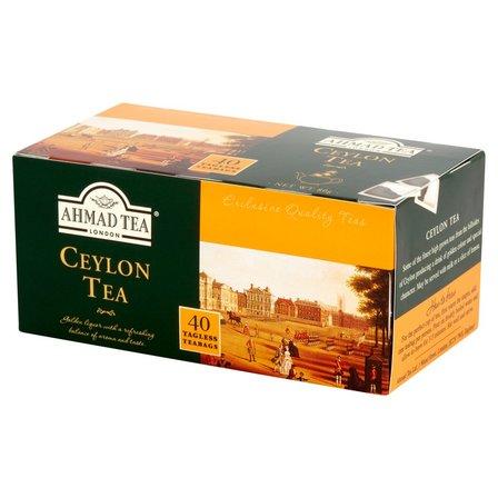 Ahmad Tea Ceylon Herbata czarna 80 g (40 torebek) (1)