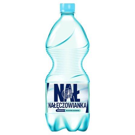 Nałęczowianka Naturalna woda mineralna delikatnie gazowana 1 l (1)