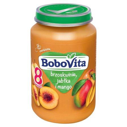 BOBOVITA Brzoskwinie jabłka i mango po 8. m-cu (1)