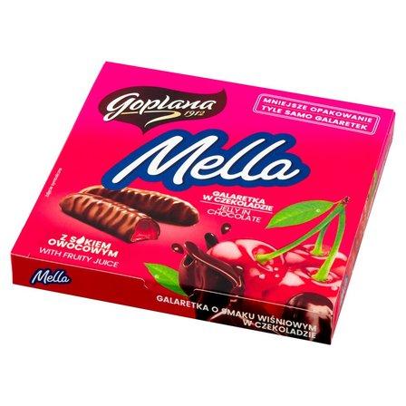 GOPLANA Mella Galaretka w czekoladzie o smaku wiśniowym (1)
