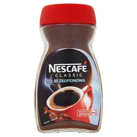 NESCAFÉ Classic Bezkofeinowa Kawa rozpuszczalna (2)
