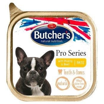 Butcher's Pro Series Karma dla psów dorosłych pasztet z drobiem i wołowiną 150 g (1)