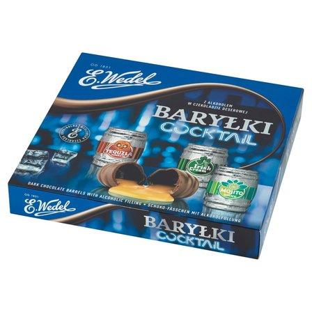 E. WEDEL Baryłki Cocktail z alkoholem w czekoladzie deserowej (1)