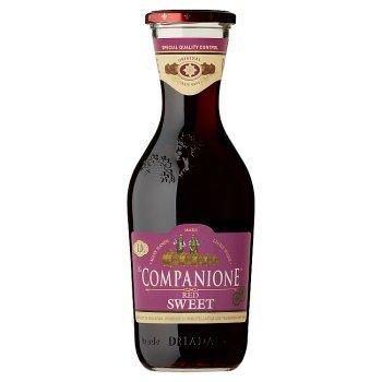 Companione Wino czerwone słodkie mołdawskie 100 cl (1)