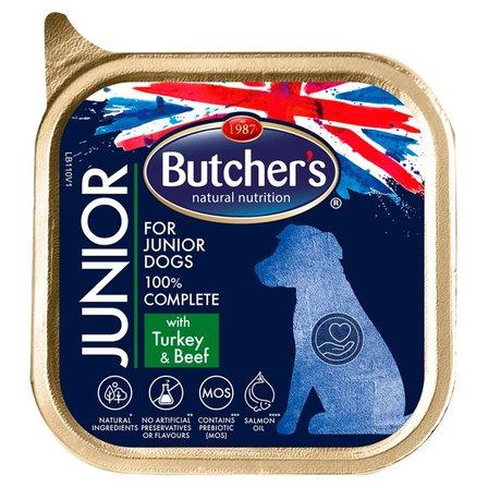 BUTCHER'S Junior Pełnoporcjowa karma dla szczeniąt z indykiem i wołowiną (1)