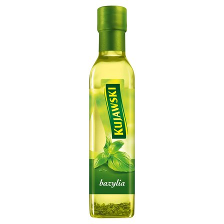 KUJAWSKI Olej rzepakowy z pierwszego tłoczenia z bazylią (1)