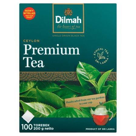 DILMAH Premium Tea Herbata czarna klasyczna (100 tb.) (2)