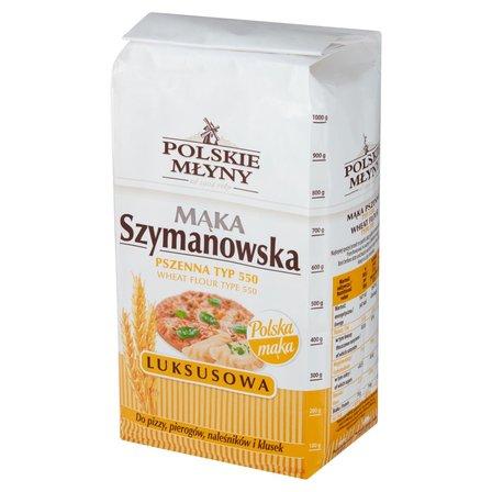 POLSKIE MŁYNY Mąka Szymanowska pszenna luksusowa typ 550 (1)
