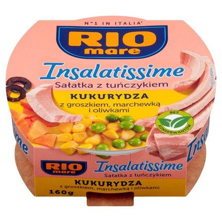 RIO MARE Insalatissime Mais e Tonno Gotowe danie z warzyw i tuńczyka (1)