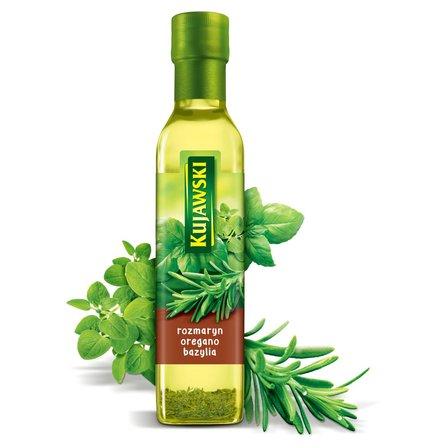 KUJAWSKI Olej rzepakowy z pierwszego tłoczenia z rozmarynem oregano i bazylią (1)